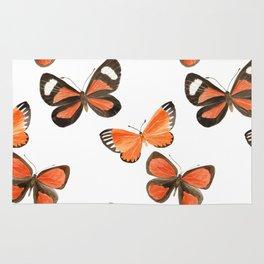 South American Butterflies Rug