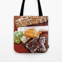 Sage & Crystals Tote Bag