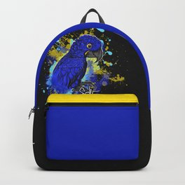 Hyacinth macaw Hymie Backpack