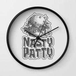 Nasty Patty Wall Clock