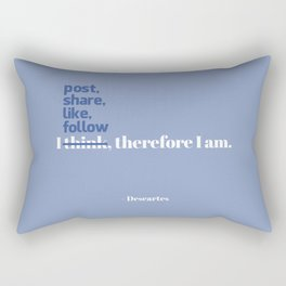 Descartes Rectangular Pillow