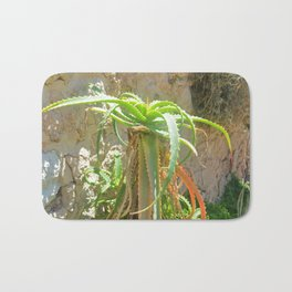 Aloe Plant Bath Mat