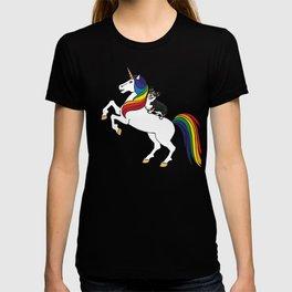 Corgi  - unicorn T-shirt