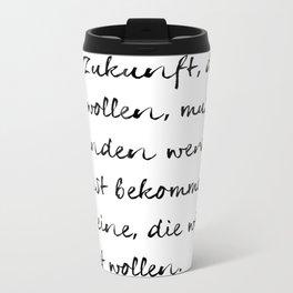 Joseph Beuys Metal Travel Mug
