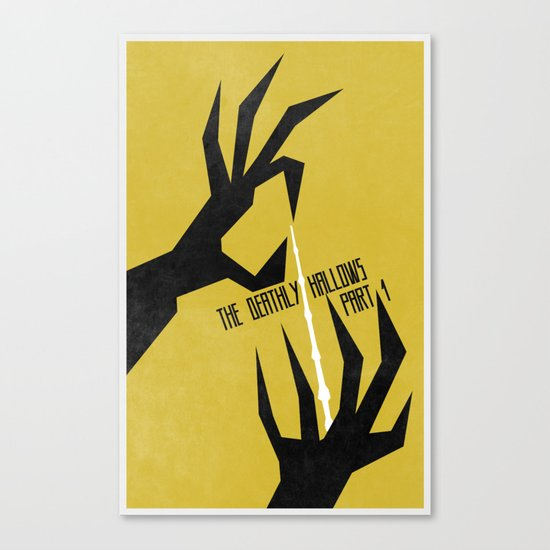The Deathly Hallows Pt.1 (The Boy Who Lived 7 of 8) Canvas Print