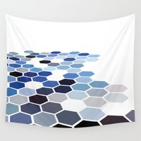 alaska Wall Tapestries featuring Alaska by Bakmann Art