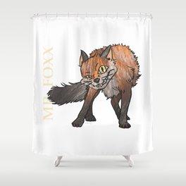 Mr. Foxx Shower Curtain