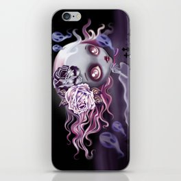 Ghostly Luna iPhone Skin