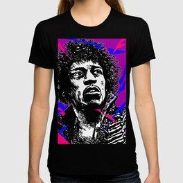 Jimi Hendrix Pop-Art (Purple Haze) T-shirt