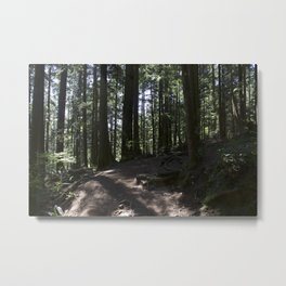 Quarry Rock Deep Cove trail 3 Metal Print