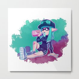 Thisty Woomy Metal Print