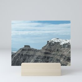 Santorini, Greece 16 Mini Art Print