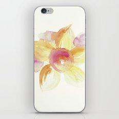 Sunflower Watercolor iPhone & iPod Skin