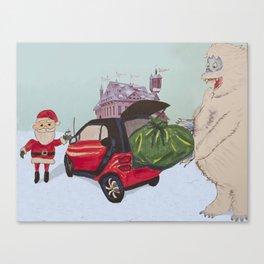 Smart Bumble Canvas Print