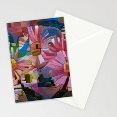 A Daisy Abstract Stationery Cards