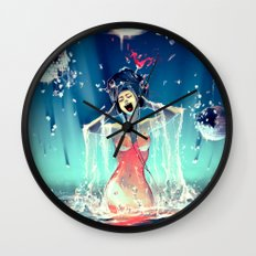 Voice of Crystal Wall Clock