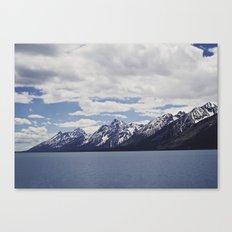 Grand Tetons: Colter Bay Canvas Print