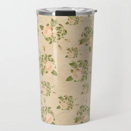 Floral Vintage Travel Mug