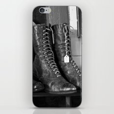 Ladies Boots iPhone & iPod Skin