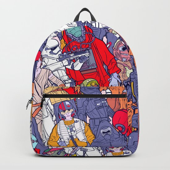 Space Toons in Color Backpack