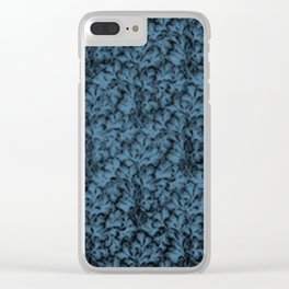 Vintage Floral Lace Leaf Niagara Clear iPhone Case