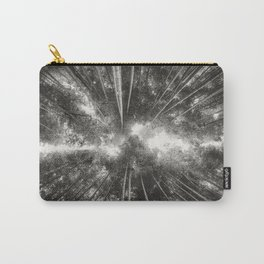 Bamboo Forest (Black and white) Carry-All Pouch