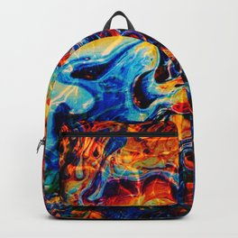 Abstract Panting Backpack