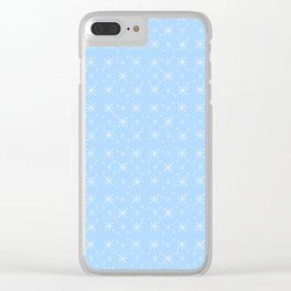 Stars 30- sky,light,rays,pointed,hope,estrella,mystical,spangled,gentle. Clear iPhone Case