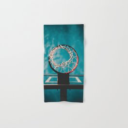 basketball hoop 6 Hand & Bath Towel
