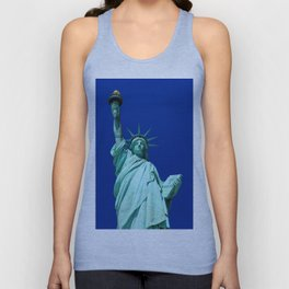 Statue of Liberty, New York, USA. Unisex Tank Top