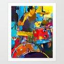 Drummer by shrenk