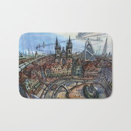 Prague Bath Mat