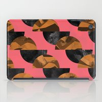 black and gold iPad Cases featuring gold,black by Georgiana Paraschiv