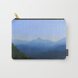 The Sun Rises over the Himalayas Carry-All Pouch