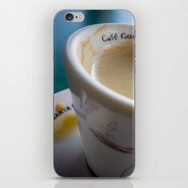 Sidewalk Coffee iPhone Skin