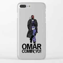 Omar Comin' Yo Clear iPhone Case