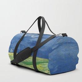 Vincent van Gogh - Wheatfield Under Thunderclouds Duffle Bag