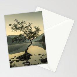 Tree at Llyn Padarn IV Stationery Cards
