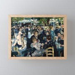 BAL DU MOULIN DE LA GALETTE - RENOIR Framed Mini Art Print