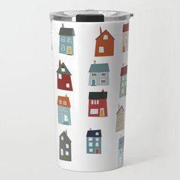 Little Houses Travel Mug