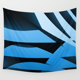 Blue Mystery Wall Tapestry