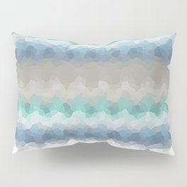 "Abstract pattern "" Blue crush ""  . Pillow Sham"