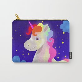 Magical rainbow unicorn Carry-All Pouch