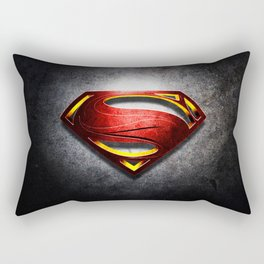 Man of Steel Rectangular Pillow