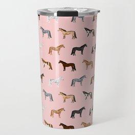 horses farm animal pet gifts Travel Mug