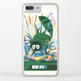 Diorama 2/2 - Happy Camper Clear iPhone Case