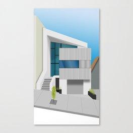 Modern Home No. 2 Canvas Print