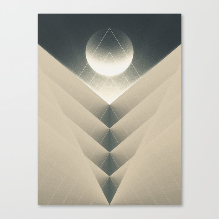 Expected Downfall Canvas Print