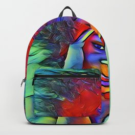 Red Hair Backpack