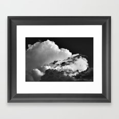 'Swirling Clouds' Framed Art Print